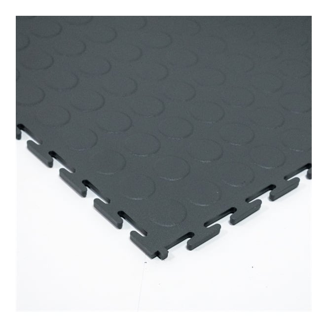 Interlocking Floor Tiles Studded Surface with Open Joint