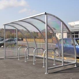 Kenilworth Curved Bike Shelters