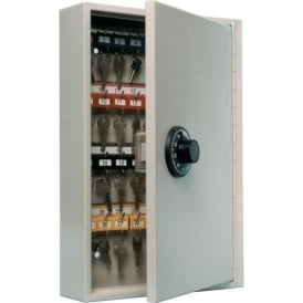 Key Control Cabinets with Dial Combination Lock for 20-300 Keys