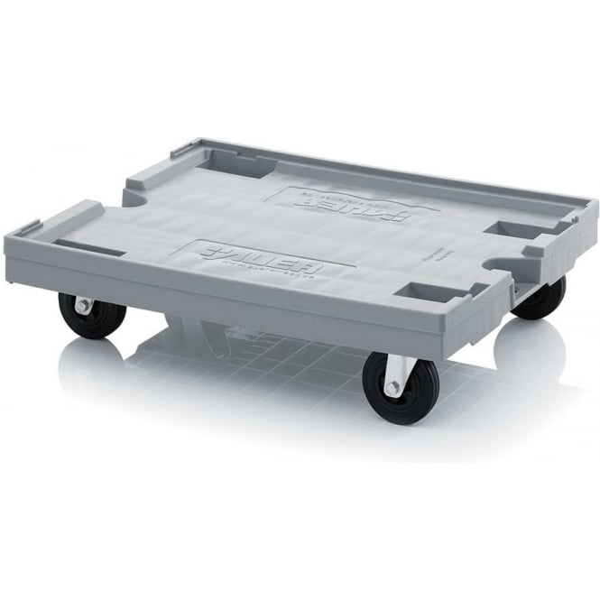 Large Plastic Dolly for Euro Containers Cap: 250kg