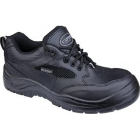 Leather Safety Trainer Shoes S1 SRA