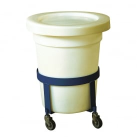 Lids & Dollies to suit Tapered Bins