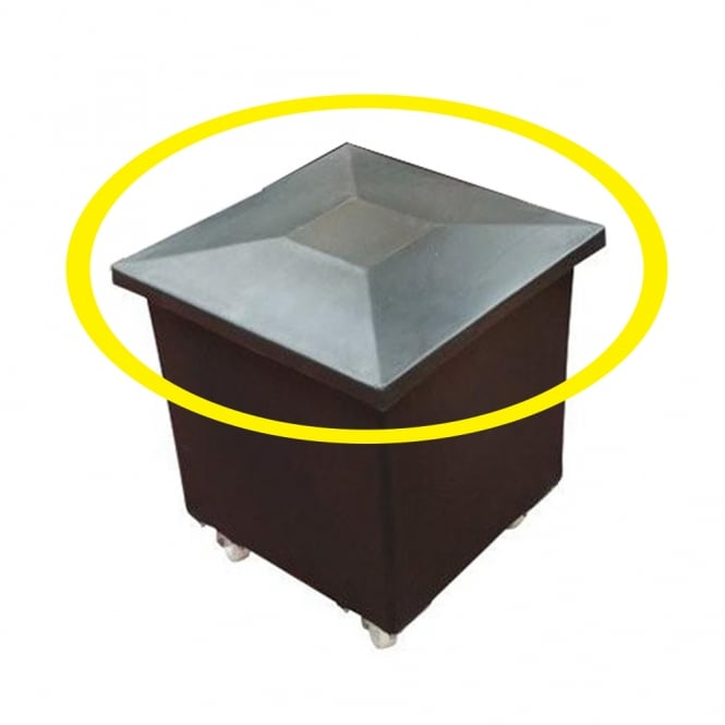 Lids for Premium Tapered Mobile Container Trucks - Recycled Range