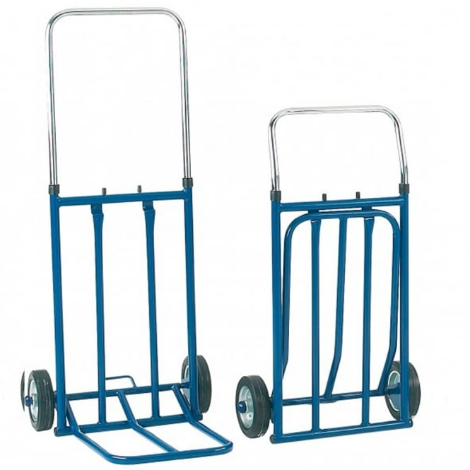 Light Duty Folding Sack Truck with telescopic handle Cap: 100kg