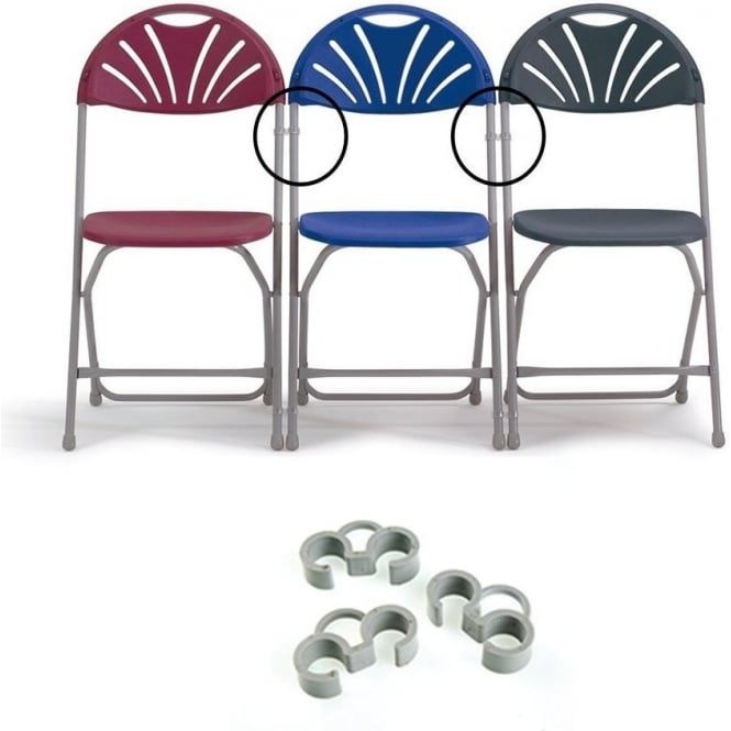 Linking Clips for Folding Chairs