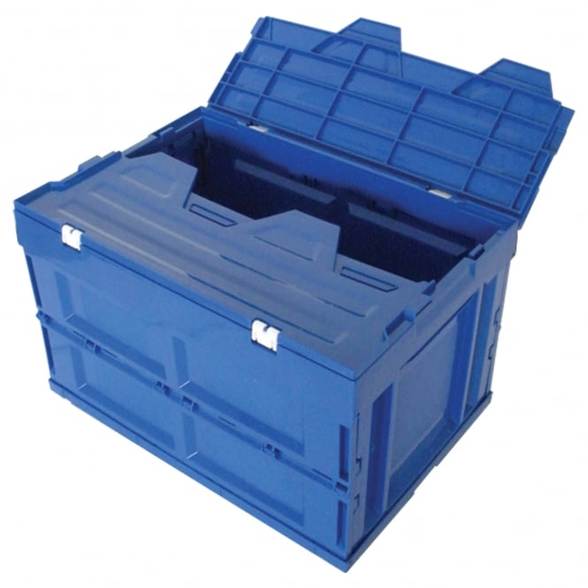 Low Cost Folding Boxes with attached lids