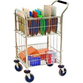 Mail Distribution Trolley Cap: 80kg