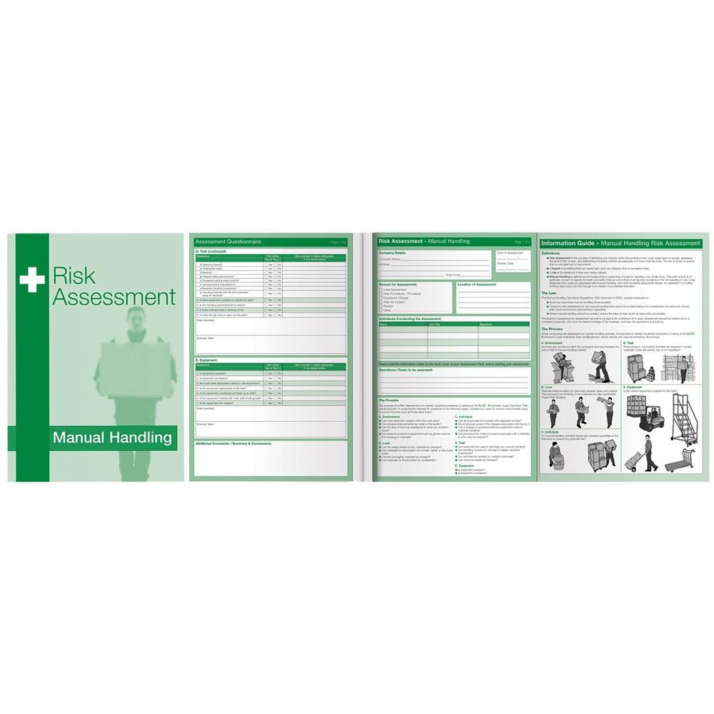 Manual Handling Risk Assessment Kit PPE First Aid Fire CoSHH – Manual Handling Risk Assessment