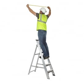 MasterTrade Class 1 Aluminium Swingback Step Ladder