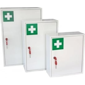 Medical Storage Cabinet with a Lockable Inner Compartment