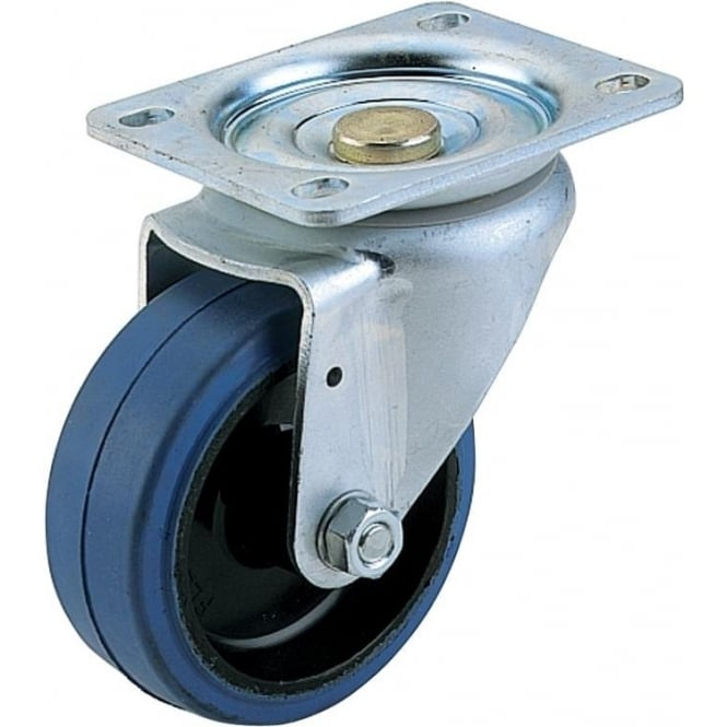Medium Duty Non-Marking Rubber Tyred Castors