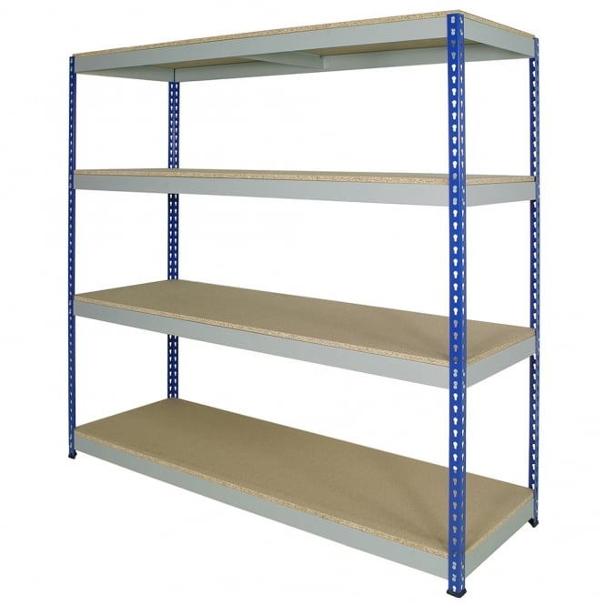 Medium Duty Rivet Shelving - Width: 1830mm x Height: 1830mm