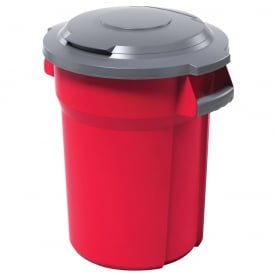 Mega Coloured Dustbin Cap: 85lt