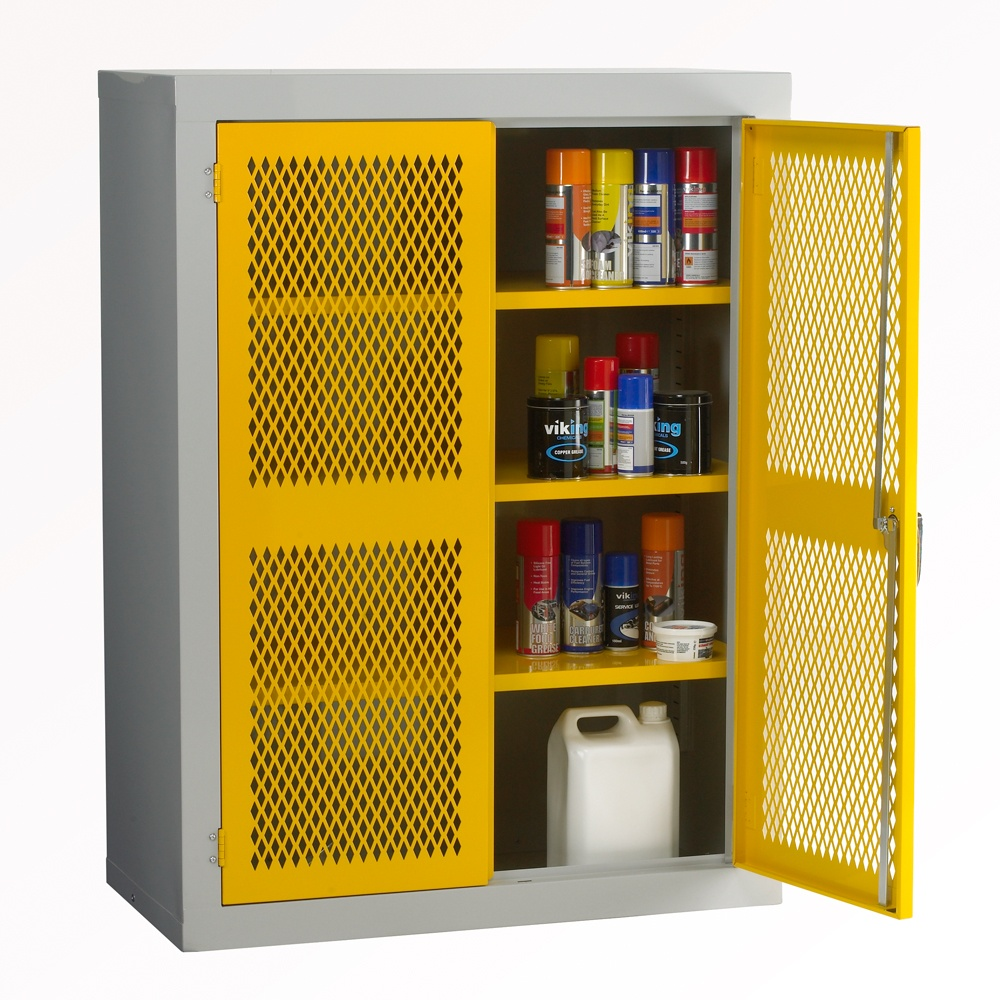 Mesh Cabinets 17