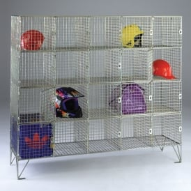 Mesh Personal Effects Lockers