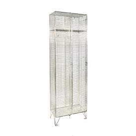 Mesh Personal Lockers - Nest of 2