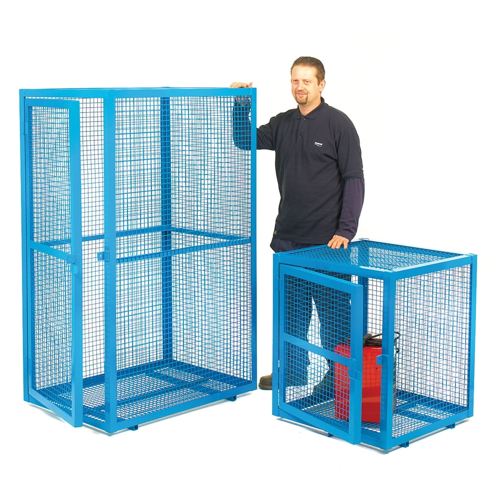 Mesh Security Cages - PPE, First Aid, Fire & CoSHH from PARRS UK