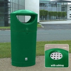 Metro Coloured Plastic Litter Bins Cap: 100lt
