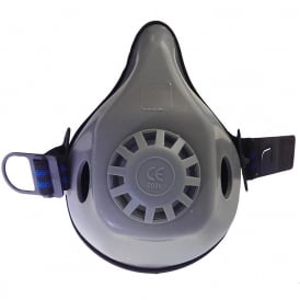 Midimask Rubber Twin Half Mask Respirator without Filters
