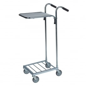 Mini Stock Trolley with 1 Laminate Shelf Cap: 35kg