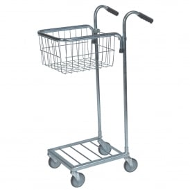 Mini Stock Trolley with 1 Mesh Basket Cap: 35kg