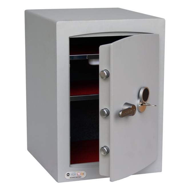 Mini Vault Key Locking Safe Cap: 67lt