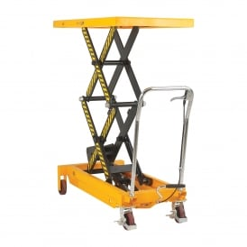 Mobile Scissor Lift Table Double Height Cap: 300kg