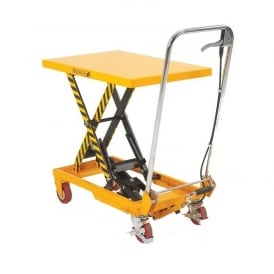 Mobile Scissor Lift Tables Single Lift Cap: 150kg, 300kg, 500kg & 750kg