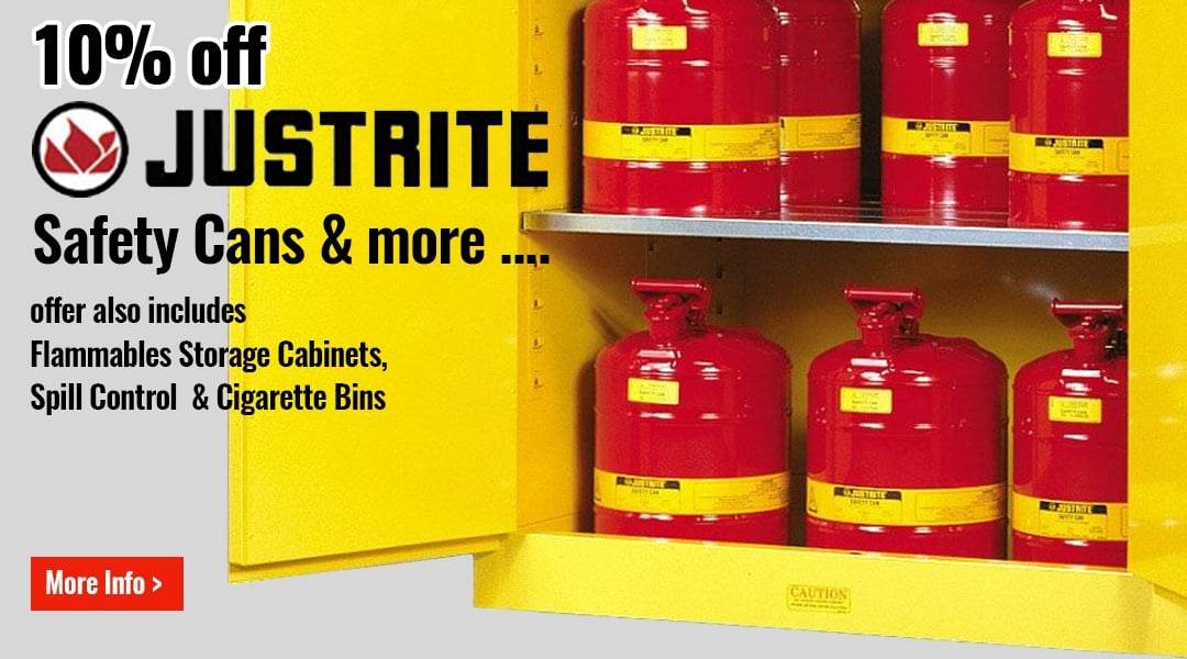 10% off JUSTRITE products