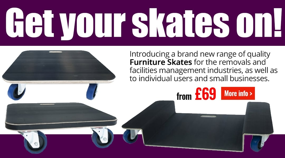 Get our skates one! New Furniture Skates from PARRS