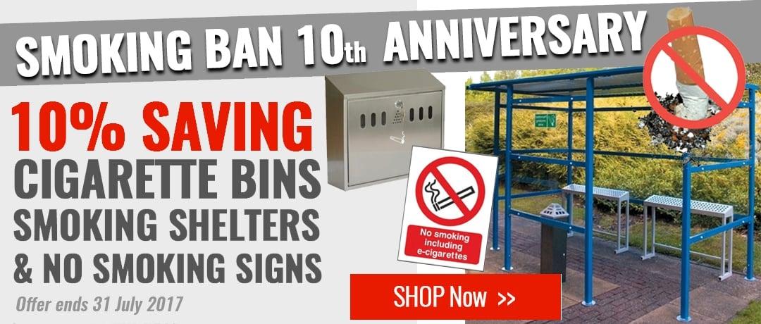 Cigarette Ban Anniversary