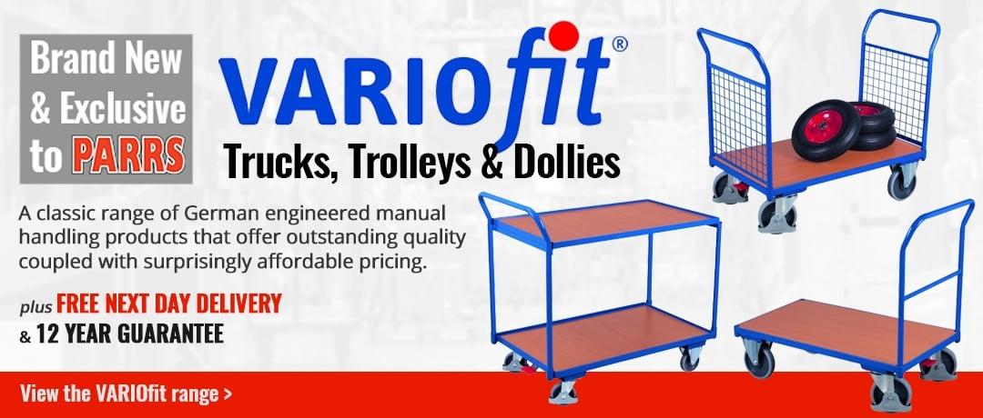 New & Exclusive VARIOfit Trucks & Trolleys
