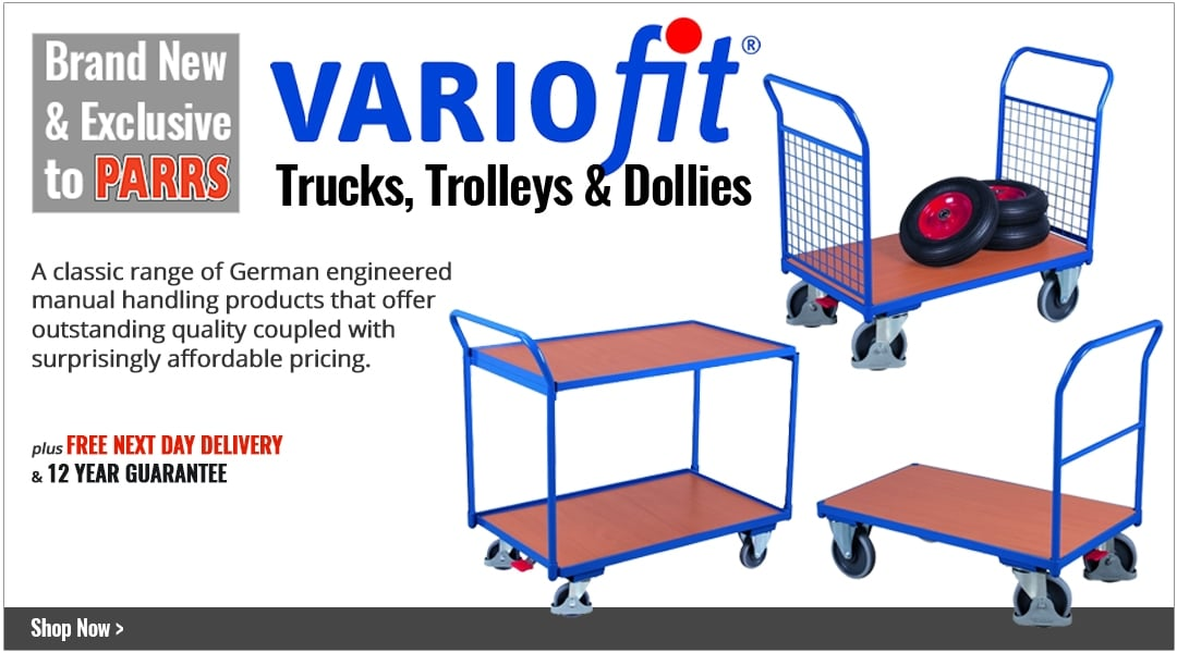 Variofit Trucks & Trolleys - Exclusive to PARRS