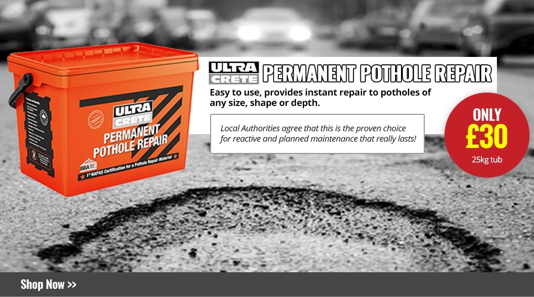 Fed up with potholes?