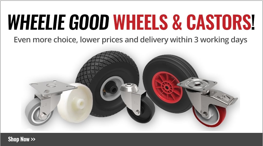 NEW! Wheels & Castors