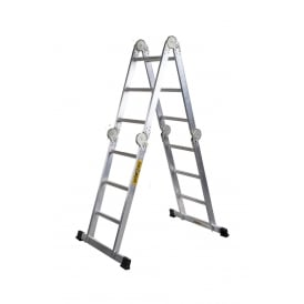 Multi Purpose 3 Way Aluminium Ladder