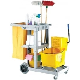Multi-Purpose Janitorial Cleaning Trolley