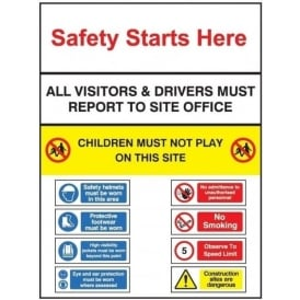 Multi-Purpose Site Safety Sign