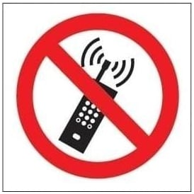 No mobile phone Signs - Symbol only
