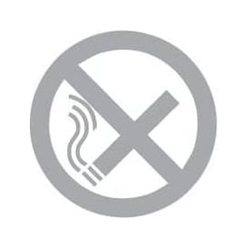 No Smoking Glass Door and Window Sticker