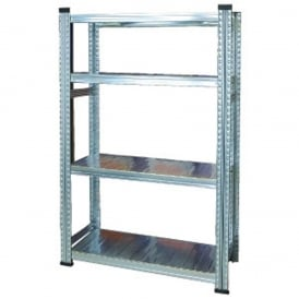 Non-Commercial Zinc Plated Shelving
