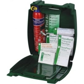Off-Site First Aid Kit with Fire Extinguisher