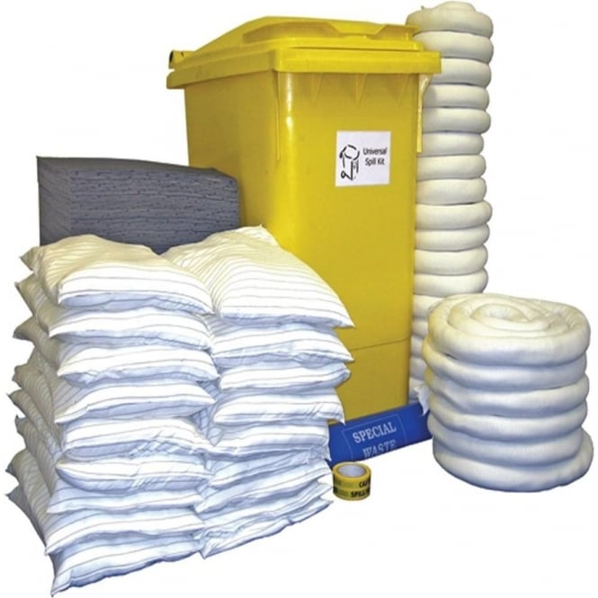 Oil, Maintenance and Chemical Wheelie Bin Spill Kits