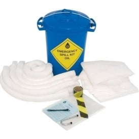 Oil Spill Kit - 90 Litre