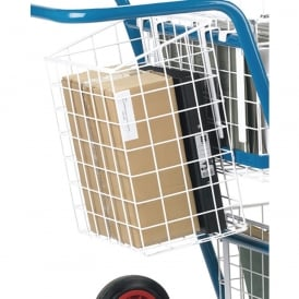Optional Rear Basket for GT1/GT2/Senior Mailroom Trolleys