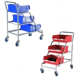 Order Picking Trolleys with TOPSTORE Containers
