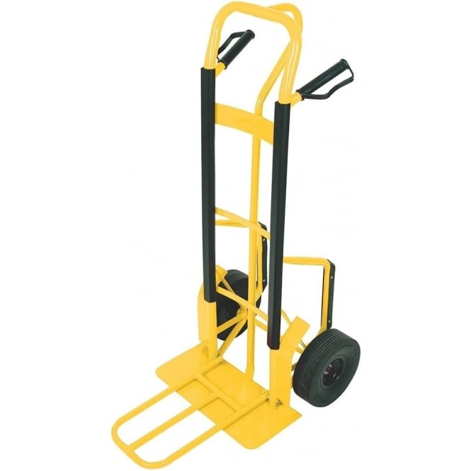 P-Handle Sack Truck with dual foot-iron Cap: 250kg