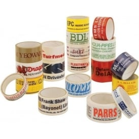 Personalised Printed Sealing Tape - PVC
