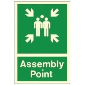 Photoluminescent - Assembly Point Signs