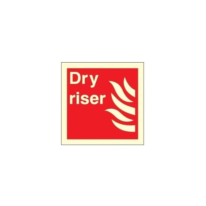 Photoluminescent - Dry Riser Sign